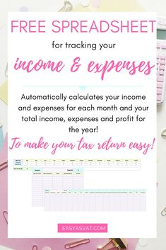 bookkeeping for freelancers and small businesses made simple free spreadsheet template
