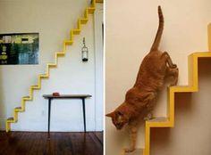 Muebles funcionales para gatos