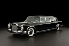 1968 Mercedes Benz Pulman 600S Class #retro #cars #benz #carl #business #vintage #old #wood #black #premium #class #pulman #brabus #amg #engine #interior #photo #day #black #chrome #classics #instagram