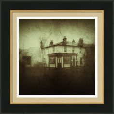 Vintage Public House Framed Print By Fine Art By Andrew David