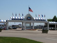 Shepler's Ferry Entrance. Mackinaw City, Michigan  (Ferry goes to Mackinaw island)