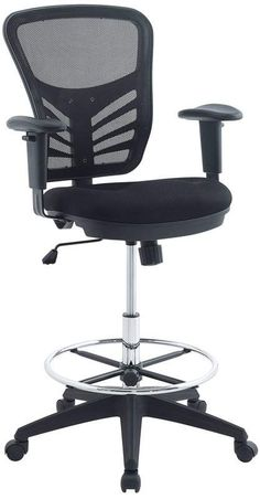 Symple Stuff Mesh Drafting Chair  sc 1 st  Pinterest & 9 Best drafting chair images | Desks Office spaces Business furniture