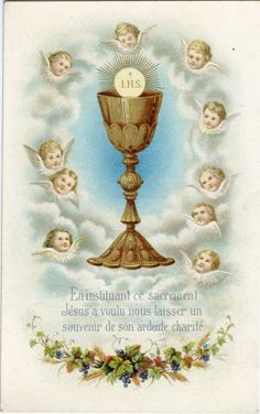 """theraccolta:  """"In instituting this sacrament, Jesus wanted to leave us a souvenir of His ardent charity."""""""