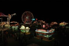 Northern Wisconsin State Fair in July in Chippewa Falls, WI