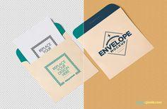 Free Envelope PSD Mockup + Letterhead Mockup (15.94 MB)   ZippyPixels   #free #photoshop #mockup #envelope #letterhead