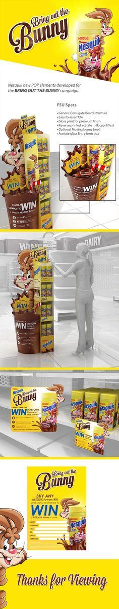 NESQUIK POP CAMPAIGN on Behance