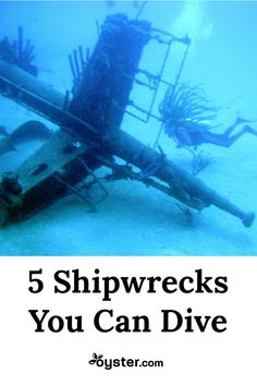 Shipwrecks litter the ocean floor, and many are within reasonable scuba diving depths. When it comes to wreck diving, the utmost safety precautions must be taken. Divers should never enter a shipwreck unless they have advanced certification. Those who do venture into the deep are rewarded with experiencing the ships' second life as artificial reefs teaming with sea creatures. Here, we name five diveable wrecks you should put on the top of your bucket list.