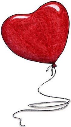 Feb 14 ❤️ Happy Feast Day of St Valentine ❤️ Its a beautiful day. I Love Heart, Happy Heart, Valentine Heart, Happy Valentines Day, Red Balloon, Heart Balloons, Heart Art, Belle Photo, Love Art
