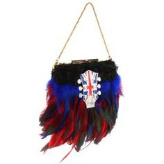 Sales Inspired by Claire Jane - English Electric Feather Purse (Red/Blue/Black/Bronze Clasp) - Bags and Luggage new - Zappos is proud to offer the Inspired by Claire Jane - English Electric Feather Purse (Red/Blue/Black/Bronze Clasp) - Bags and Luggage: Zappos is proud to have Inspired by Claire Jane as part of our program!
