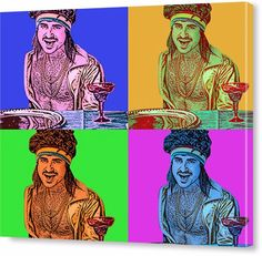 Personalized pop art on canvas. Turn your favorite photo into a Pop-art Canvas. Our professionals create canvas pop art portraits from photographs. Cheap Canvas Prints, Canvas Art, Andy Warhol Pop Art, Pop Art Portraits, Create Canvas, Custom Canvas, Silk Screen Printing, Photo Canvas, Online Art