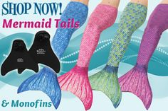 shop mermaid tails