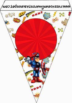 Marvel Superheroe Squad: Free Party Printables.