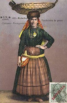 Varina de Lisboa. Isadora Duncan, History Of Portugal, Folk Clothing, Portuguese, Culture, Traditional, Costumes, Fishing, Vintage