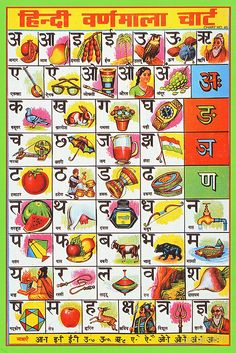 Collection of Indian school posters. Collection of Indian school posters. Hindi Alphabet, Alphabet Charts, Alphabet Worksheets, Hindi Font, Hindi Words, Hindi Language Learning, Hindi Worksheets, Vowel Worksheets, Kindergarten Worksheets
