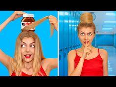 FUN DIY FOOD HACKS! Smart Girly Hacks by Mr Degree - YouTube Good Pranks, Super Funny Videos, Food Humor, Fun Diy, Diy Food, Food Hacks, Life Hacks, Girly, Youtube