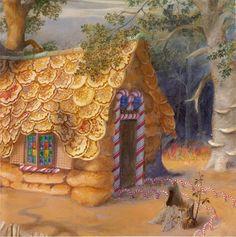 Hansel and Gretel/ Rika Lesser/ Dodd, Mead & Co., 1984. Illustrator: Paul O. Zelinsky