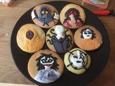 Creepypasta/Slenderverse Cookies 1 by darkangel6021