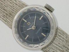 Omega 時計特集OMEGAオメガジュネーブ手巻K18WGレディース質流 Watch Antique ¥120000yen 〆08月22日