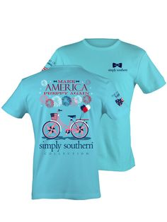 Simply Southern Make America Preppy Again - Blue from Chocolate Shoe Boutique