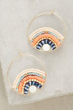 Jima Hoops #anthropologie