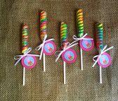 Peppa Pig Lollipop Twist - Party Favor - Goodie Bag - George Pig - Set of 10