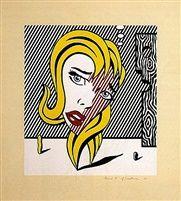 Blonde (Surrealist Series) par Roy Lichtenstein