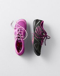 The latest iteration of Merrell's much-loved minimalist running shoe gives a close-to-the-ground feeling whether you're running along trails or around town. #barefootshoes