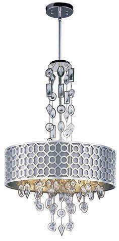 Maxim Lighting Symmetry 8-Light Pendant & Reviews | Wayfair