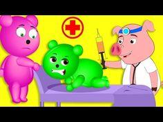 Mega Gummy Bear crying in Washing Machine finger family song for kids - YouTube