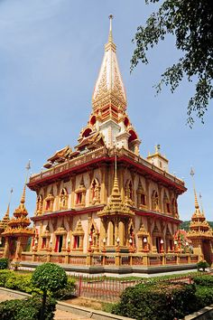 Wat Chalong - Phuket, Thailand http://www.vacationrentalpeople.com/vacation-rentals.aspx/World/Asia/Thailand/Phuket/