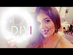 ILUMINAÇÃO - Ring Light caseira - YouTube