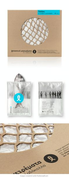 Clever fish #packaging #design PD