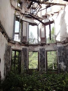 abandoned spain