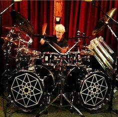 Stewart Copeland on Sonor Drums