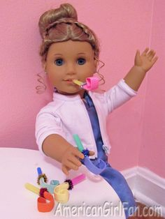 American girl party blowout toy, I might just have to add this to the goody bags.