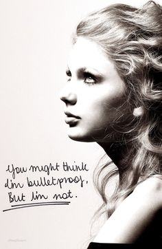 """Tell Me Why"" -Taylor Swift"