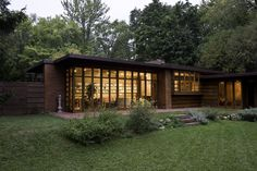 Herbert Jacobs House I. Madison, Wisconsin. 1937. Frank Lloyd Wright Usonian Style.