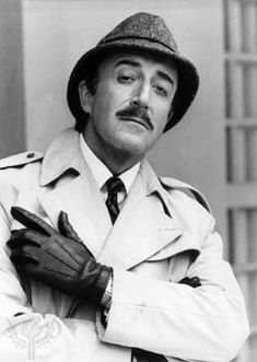 The Pink Panther 1964. Peter Sellers was one of the funniest actors of my generation, especially as Inspector Clouseau.