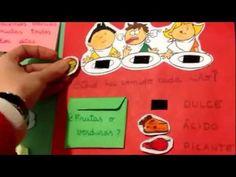 @karolitapc El lapbook de los sentidos y los alimentos #science #bilingual #preschool
