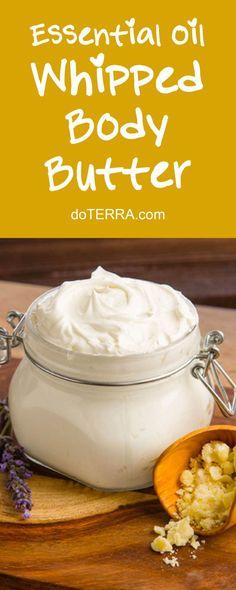 doTERRA Essential Oils DIY Whipped Body Butter Recipe