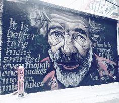 It is better to be high-spirited even though one makes more mistakes than to be narrow minded and all too prudent. -Vincent Van Gogh via @mandalarose #beautifyearth #streetart #street #streetphotography #sprayart #urban #urbanart #urbanwalls #wall #wallporn #graffitiigers #stencilart #art #graffiti #instagraffiti #instagood #artwork #mural #graffitiporn #photooftheday #stencil #streetartistry #stickerart #pasteup #instagraff #instagrafite #streetarteverywhere