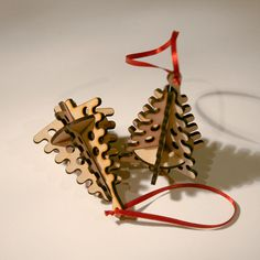 Laser Cut Wooden 3D Christmas Tree Tree By Ahandfulofcolour  Https://www.etsy.com/uk/listing/213714697/laser Cut Wooden 3d Christmas Tree  Tree?refu003drelated 6
