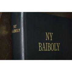 Bible in Malagasy Language / Madagascar Bible / Ny Baiboly / NY SORATRA MASINLA    $75.99