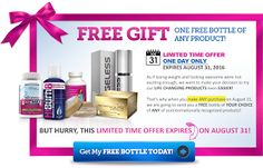 Move it and lose it.: FREE BOTTLE TODAY ONLY!!!!