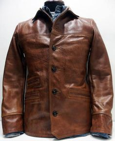 Choosing The Right Men's Leather Jackets. A leather coat is a must for every single guy's closet and is also an excellent method to express his personal design. Vintage Leather Jacket, Leather Jackets, Leather Fashion, Mens Fashion, Men's Leather, Western Outfits, Gentleman Style, Jacket Style, Outerwear Jackets