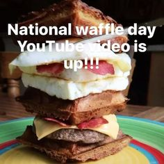 National Waffle Day: The Pursuit Ep.7 is up!!! Had to do #NationalWaffleDay big…