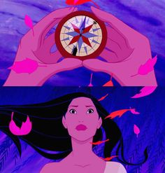 Use this compass as a template for my tattoo to incorporate my love for Disney