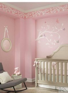 Shop for 2336 wall coverings at Steve's Blinds & Wallpaper. Browse a wide selection of wallpaper, borders and wall murals at discounted prices. Girl Room, My Room, Girls Bedroom, Bedrooms, Baby Decor, Nursery Decor, Room Decor, Nursery Ideas, Room Ideas