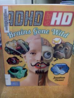 ADHD in HD. Brains Gone Wild!