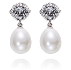 Amour Noir Samantha Wills Earrings available from www.savvybrides.com.au